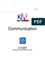 STOMP Communication Guide