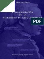 Kant, Immanuel - Grundlegung (Trad. García Morente, N° Ak.)