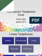 4. CLASE PLANIFICACIÓN TERAPEUTICA Y JERARQUIZACIÓN