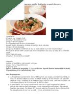 4 paşi simpli pentru prepararea puiului thailandez cu pastă de curry