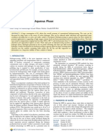 Hydroprocessing in Aqueous Phase