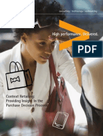 Accenture Context Retailing Insight Purchase Decision Process