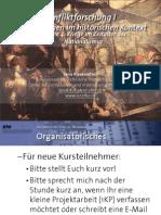 Int. Konfliktforschung I - Woche 04 - Kriege im Zeitalter des Nationalismus (Übung)