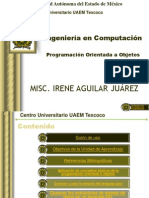 Programación Orientada Objetos