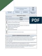 Modelo Ficha de Indicador - Procesos