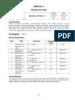 Semester-5 (Course Outline)