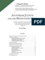 Adoniram Judson & the Missionary Call