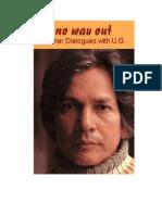 1992 - No Way Out - U.G. Krishnamurti