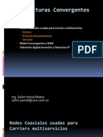 Redes coaxiales para Carriers Multiservicios - UTB 2013.ppt