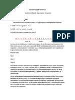 Hoja de Diagnostico Ortodoncico
