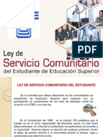 Ley Se Servicio Comunitario Final