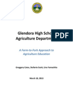 aed 100 glendora high school agriculture department - greggory stefanie lina