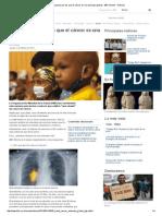 Cinco razones por las que el cáncer es una amenaza global - BBC Mundo - Noticias