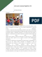 05/02/14 news Imparte SSO curso para manejo higiénico de alimentos