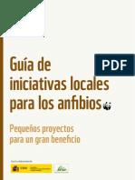 Guia de Iniciativas Locales Para Los Anfibios