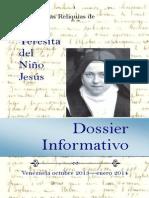Dossier-eBook Visita Reliquias Sta. Teresa de Lisieux