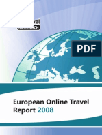 EyeforTravel - European Online Travel Report 2008
