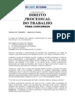 Direito Processual Do Trabalho - Vestcon