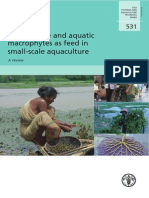 Use of Algae and Aquatic Macrophytes as Feed in Small-scale Aquaculture- FATP 531