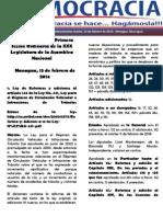 Barómetro Legislativo Diario del jueves, 13 de febrero de 2014.pdf