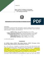 Lea Garofalo Ordinanza Custodia Cautelare Per Omicidio Di Una Testimone Di Giustizia Catozzella Giuseppeordinanzalea-garofalo