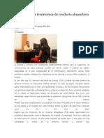 10/02/14 News Sufren Mujeres Transtornos de Conducta Alimentaria