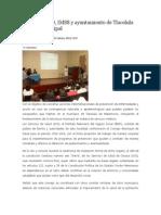 10/04/14 News Conforma SSO, IMSS y Ayuntamiento de Tlacolula Consejo Municipal