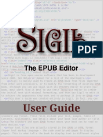 Sigil User Guide 0 6 0 Draft