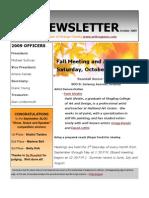 ALOC Newsletter October 2009