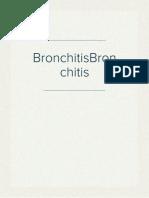 BronchitisBronchitis