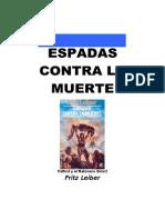 Leiber, Fritz - FR1, Espadas Contra La Muerte