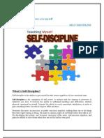 Self Decipline
