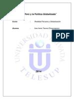 129844035 El Peru y La Politica Globalizada