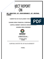 Report on Mutual Fund by Sandeep Arora
