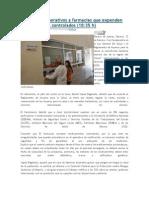 12/04/14 ADN Realiza SSO Operativos a Farmacias Que Expenden Medicamentos Controlados