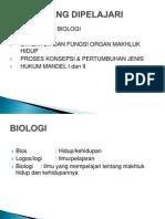 MATERI KULIAH 1 Biologi