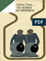 Tomas Andrew No Somos Los Primeros.pdf
