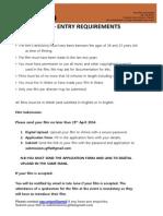 GFFA Application Form