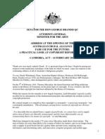 AG Speech - ADA Copyright Forum