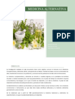 Medicina Alternativa.estudio de Mercado