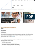 Cloud Systems Engineer