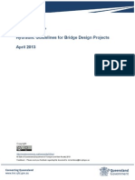 Hydraulic Guidelines Bridge Design Projects