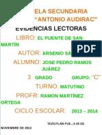 PORTADA EVIDENCIAS LECTORAS