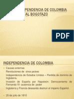 De La Independencia de Colombia Al Bogotazo
