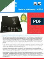 Datasheet mobile Gateway M220