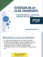 Protocolos Capa de Transporte