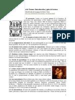 Guía de lectura Lazarillo