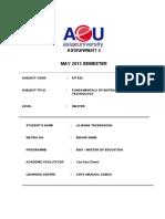 Fundamentals of Instructional Technology_eit 632_ Assignment 2_lilianna Tessensohn_e60105130086
