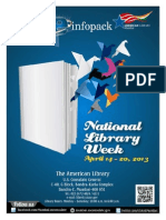 Infopack on Library Week