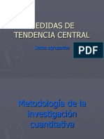 Medidas de Tendencia Central1